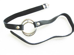 Bondage Gear O Ring Gag Mouth Bite Gag BDSM Sex Toys Female Slave Femdom Bondage Adult Products WQ-DORG01
