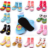 Wholesale Baby home floor socks kids shoes baby sports shoes many styles sizes A28 high quality