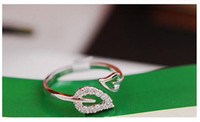 auger types - Sample order the New han edition jewelry lovers ring type two leaf set auger openings