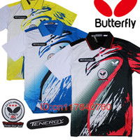 Wholesale TENERGY Star Ball NEW Butterfly table tennis shirt Men table tennis clothes table tennis jerseys