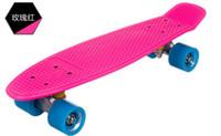Cheap 22inch Penny Skateboard Best Pink New Fresh PP Material Skateboard