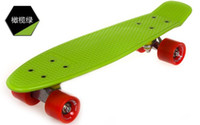 22inch Green New Fresh PP Material New Designs New Honeycombed Designs 22 Inch Penny Skateboard Penny Nickel Penny Cruiser Penny Skateboards Penny Board Penny Board Skateboard