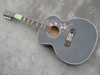 Wholesale black Acoustic Electric Guitar with Fishman High Quality In Stock