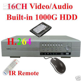 Wholesale 16CH H NET DVR Standalone TB HDD CCTV Security System
