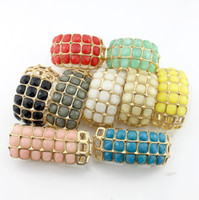 Wholesale Colorful Bracelets Exaggerated Multilayer Bracelet Unisex Fashion Bracelets