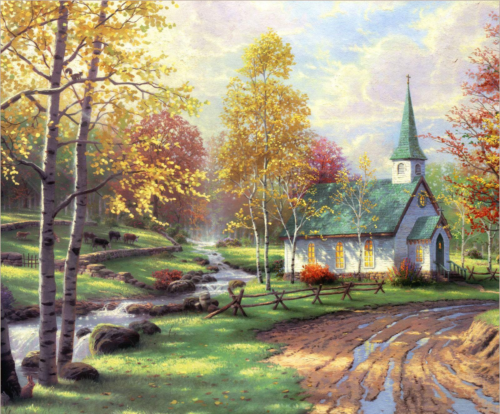 2018 hot selling hd print oil painting on canvas edouard for Oil paintings of houses