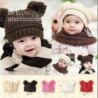 Cotton Yes Baby 5 Colors Winter Protection Baby Hat Children Crochet Hats Kids Hat Free Shipping