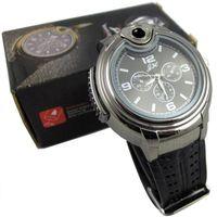 antique items - 2015 Military Lighter Watch Man Quartz Wristwatch Butane Cigarette Cigar Men Watches Lighter Item Colors