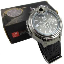 Wholesale 2015 Military Lighter Watch Man Quartz Wristwatch Butane Cigarette Cigar Men Watches Lighter Item Colors
