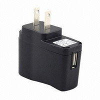 Wholesale by DHL EMS American Standard Adapter US Plug type USB AC Wall Charger for e cigarette mp3 mp4 cell phone camera