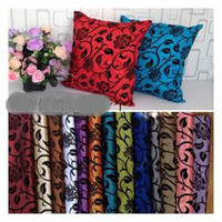 Wholesale colors DAMASK TAFFETA SOFA THROW PILLOW CASE CUSHION COVERS