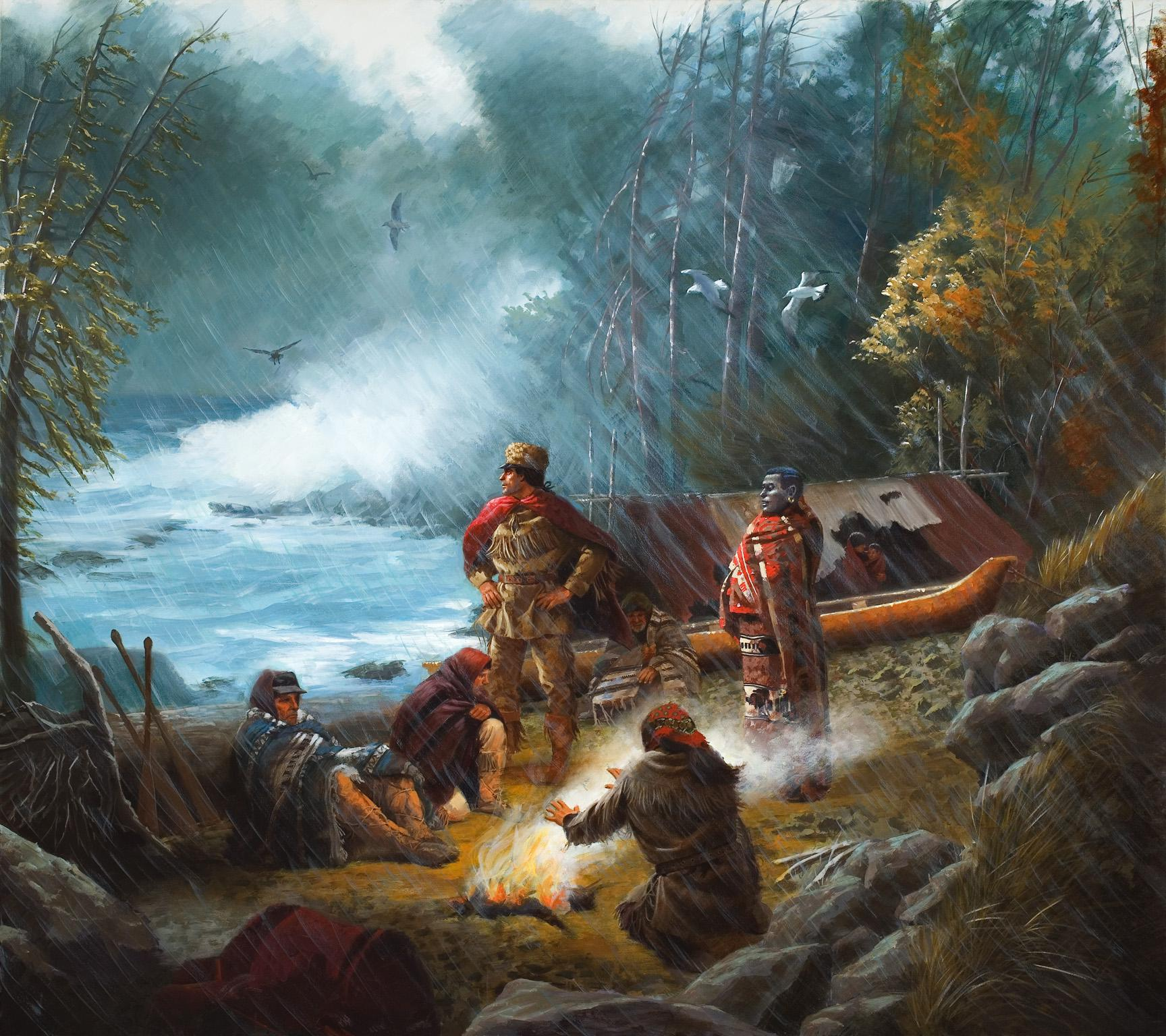 Lewis And Clark Painting Lewis And Clark Expedition
