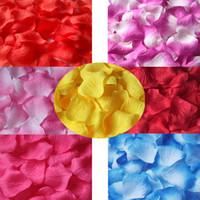 Wholesale Colorful Wedding Favor Rose Petals Wedding Party Vase Flowers Deco Decorations