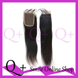 Wholesale Factory Cheap Price Soft Silk Straight x4 Malaysia Virgin Human Hair Lace Closure Tangle Free No Shedding