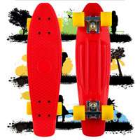 Wholesale New PP material quot Penny Original Red Penny Board Complete Longboard Cruiser Kid Plastic Skateboard
