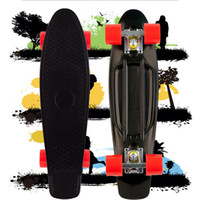 Cheap 22inch Penny Skateboard Best Black and Red New Fresh PP Material Penny Nickel Skateboard