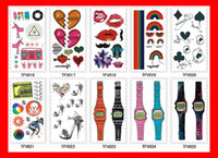 Wholesale Fashion Face amp Body Tattoo Sticker Temporary Tattoos cm choose styles