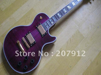 Wholesale Supreme Electric Guitar in Purple color Chinese guitar factory