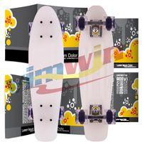 Cheap 22 inch Penny Skateboard Best White New Fresh PP Material Skateboard