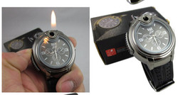 Wholesale Hot Fashion Watch Cigarette Butane Lighter Gas lighters watches Lighter Quartz Wrist Butane With Gift Box Christmas Gift