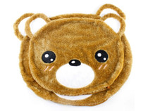 plush bear mat - 2013 new pet cartoon animals soft sofa snooze dog amp easily bear plush mat can washable dog bed