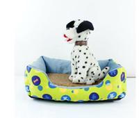 Mats & Accessories plush  TC fabric hit-color cute little house canvas kennel, dog sofa house, pet nest, 3 color 5pcs lot