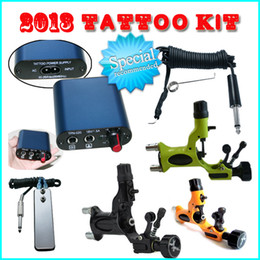 Wholesale Promotion DRAGONFLY Rotary Machine Guns Power Supply Tattoo Kits wt