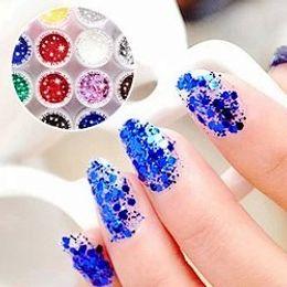 Wholesale Super shiny gradient nail powder Vogue NAIL DECORATION nail cosmetology Nail applique polish COOL