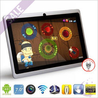 Wholesale Cheap Buy Q88 Android ALLwinner A13 GHz Tablet PC MB RAM GB inch Capacitive Screen WiFi External G eBook Reader HDMI P MID