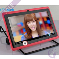 Wholesale Cheap Buy inch Q88 Q8 Android ALLwinner A13 GHz MB GB Single Camera WiFi G Ebook Reader HDMI P MID Tablet PC mix color