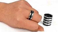 Wholesale PK Ring Dual Black Line Black PK ring Magic toys magic tricks magic props