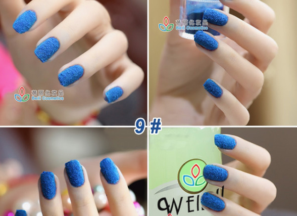 New Nail Art Fashion Velvet Poudre Velours Laine Ongles Nail Art Nail Stickers