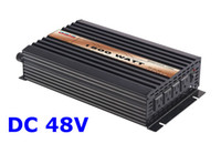 Wholesale 1500w W Pure Sine Wave Power Inverter DC V to AC V V V V V solar wind battery power supply