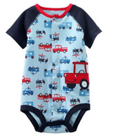 Boy baby underwears - baby bodysuits rompers new bown one piece clothes toddler babywear overalls infant shortalls baby clothes cotton underwears M1611