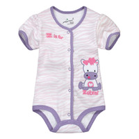 3-6 Months Girl Summer giraffe baby one-pieces bodysuits baby rompers babywear jumpers new bown pajamas overalls shortalls tops jumpsuits outfits M1616