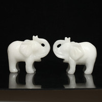 Cheap Natural jade elephant decoration move fashion accessories fortune