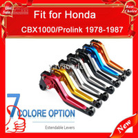 Wholesale Motorcycle Shrink Clutch and Brake lever for CBX1000 Prolink Low price free
