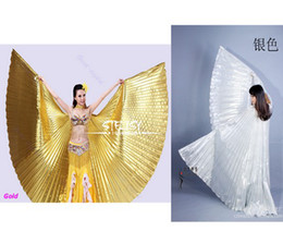 Wholesale Egypt Belly Dance Dancing Costume Isis Polyester Wings Dance Wear Wing