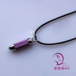 Bullet Perfume Bottle Necklaces essential oil bottle necklace fragrance bottle necklace