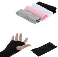 Wholesale Cooling Arm Sleeves Cover With Thumb Hole UV Sun Protection