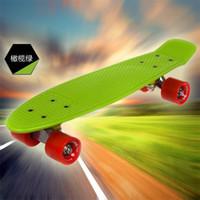 Cheap 22inch Penny Skateboard Best Green New Fresh PP Material Skateboard