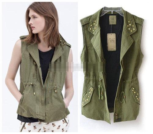 Womens Vest Jacket 49at2n