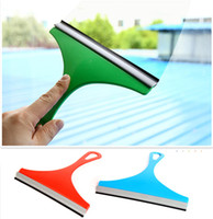 Wholesale Colorful Window Glass Cleaning Scraper Car Deicing Snow Shovel Ice Scrapers Car Film Tools