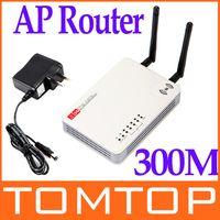 Wholesale 2 Antennas Mini Wireless N WiFi USB AP Router M G WAN C1006 DHL freeshipping