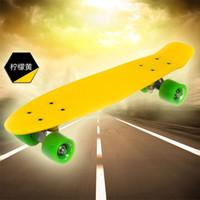 22inch Yellow New Fresh PP Material 22 Inch Penny Skateboard Penny Board Skateboards Penny Nickel Penny Cruiser Cruiser Skateboard
