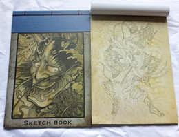 Wholesale sell hot tattoo sketch book magzine A3 size pc for tattoo supplier