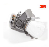 Wholesale 3M masks seven sets M box paint dual gas respirator Industrial Safety Equipment mask