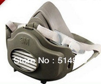 3m respirator - 3M Gas mask dual gas respirator Face Shield Industrial Safety Equipment mask freeshipping