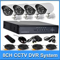 4 surveillance camera system - 2015 Upgrade Home Surveillance camera system kit CH H H HDMI DVR TVL Day Night IR waterproof Bullet Camera CCTV Systems