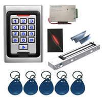 Wholesale New Complete Proximity Single Door RFID Access Control System Kit